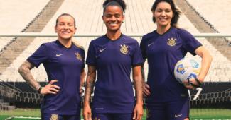 Image de l'article Les Corinthians dévoilent un maillot third en hommage aux femmes