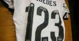 Image de l'article Un joueur des Corinthians joue son premier match avec le numéro 123