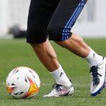 La légendaire f50 d'adidas fait son retour aux pieds de Karim Benzema!
