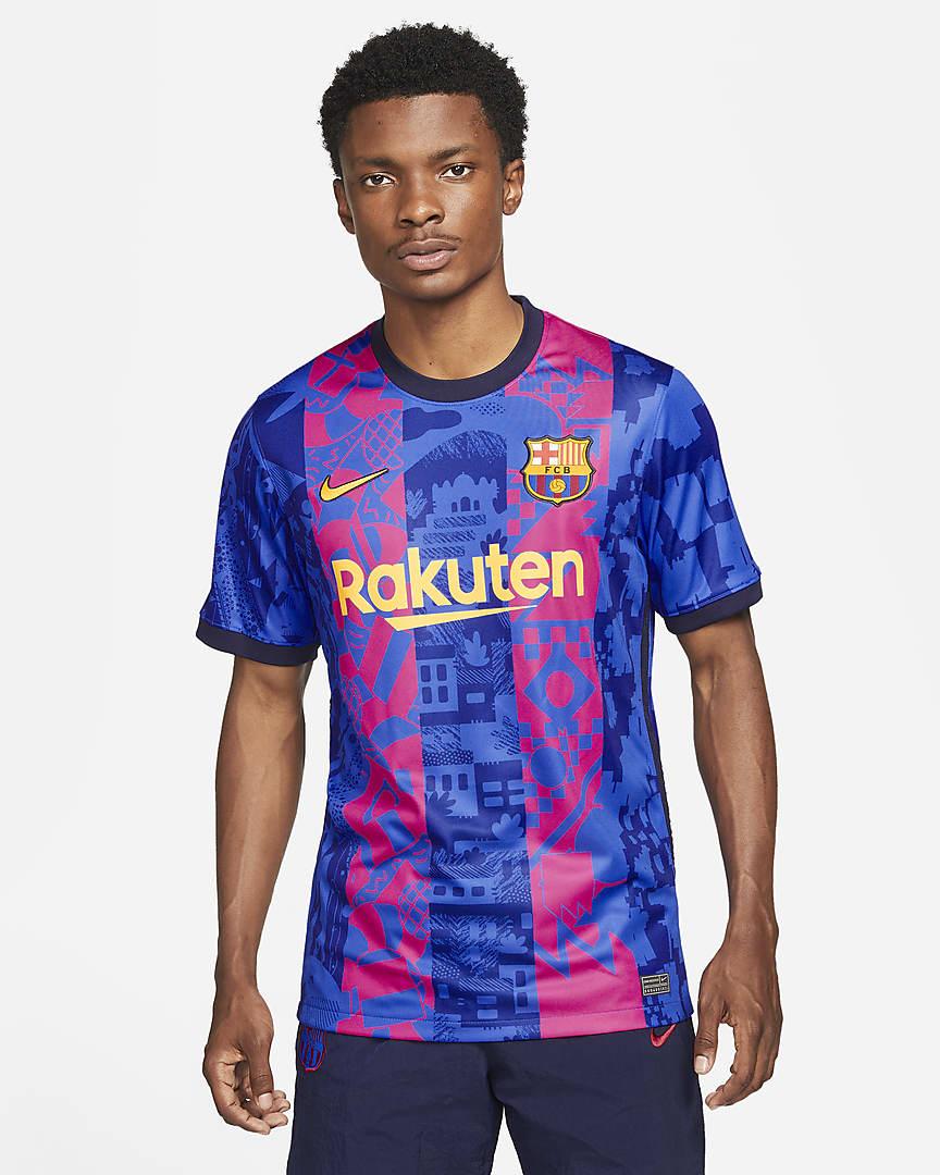 Maillot Barça 2021-2022 third