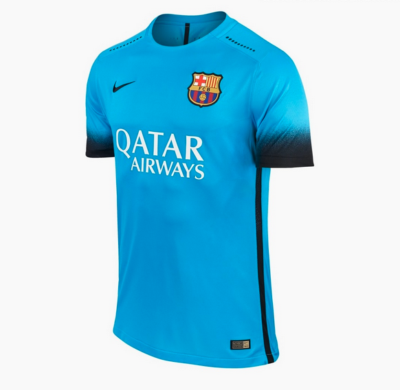 maillot barcelone 2015 2016 third nike