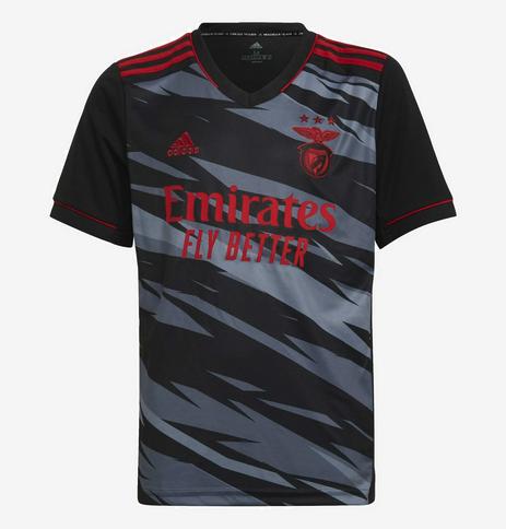maillot benfica 2021 2022 third adidas