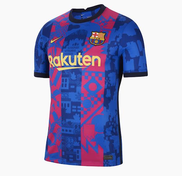 maillot club 2021 2022 third nike kit