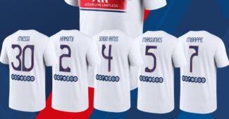 Image de l'article Le PSG présente un maillot «fan» à seulement 45€