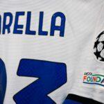 À son tour, l'Inter Milan a été obligé de changer son maillot pour la Champions League