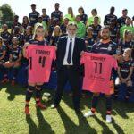 Un maillot rose inédit pour Montpellier face à Strasbourg