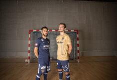 Image de l'article Le Nantes Métropole Futsal présente ses maillots 2021-2022