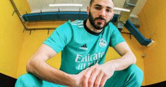 Image de l'article Le Real Madrid dévoile un maillot third en hommage à la Puerta del Sol