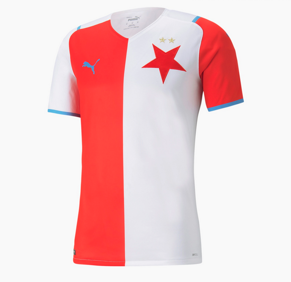 maillot slavia prague 2021 2022 domicile puma 1