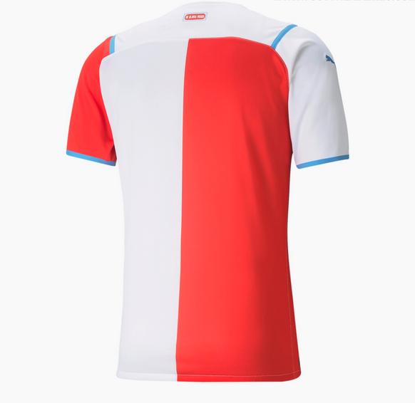 maillot slavia prague 2021 2022 domicile puma 3