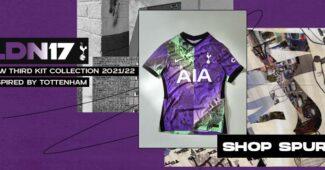 Image de l'article Inspiré des rues du quartier, le maillot third de Tottenham surprend