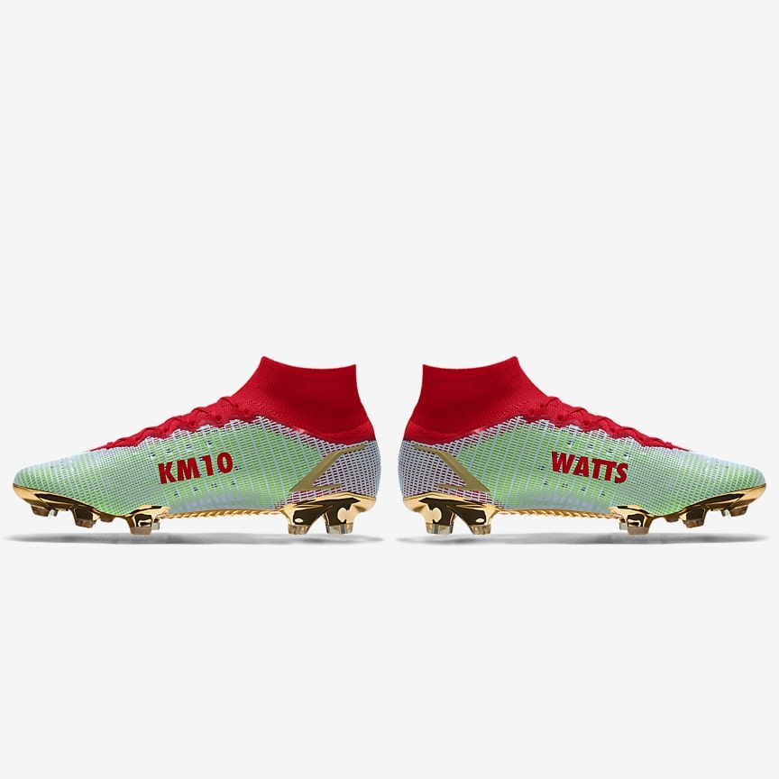 """Nike Mercurial Superfly 8 Mbappe by Street Soccer USA """"WATTS"""""""