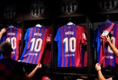 Image de l'article Ansu Fati récupère le numéro 10 de Lionel Messi, Ousmane Dembélé le 7 de Griezmann