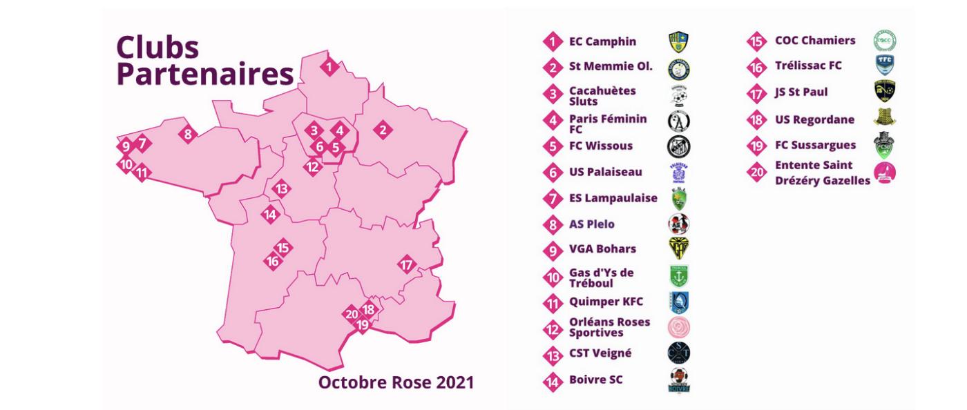 octobre rose cancer sein football alke maillot