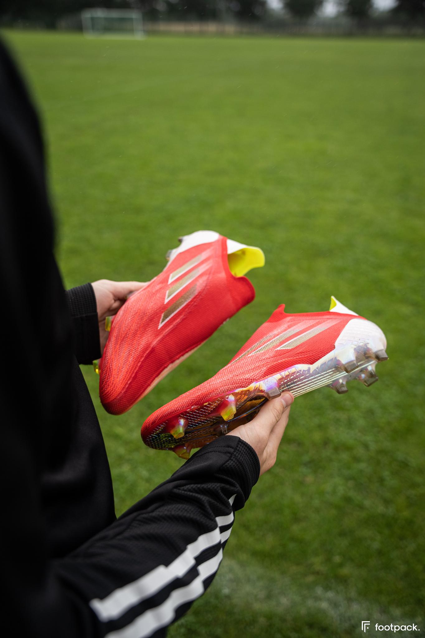 Test adidas X Speedflow+ - footpack.