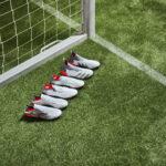 Le blanc s'invite sur les nouveaux crampons adidas