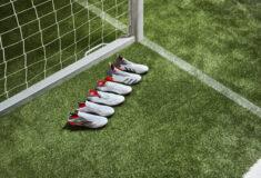 Image de l'article Le blanc s'invite sur les nouveaux crampons adidas