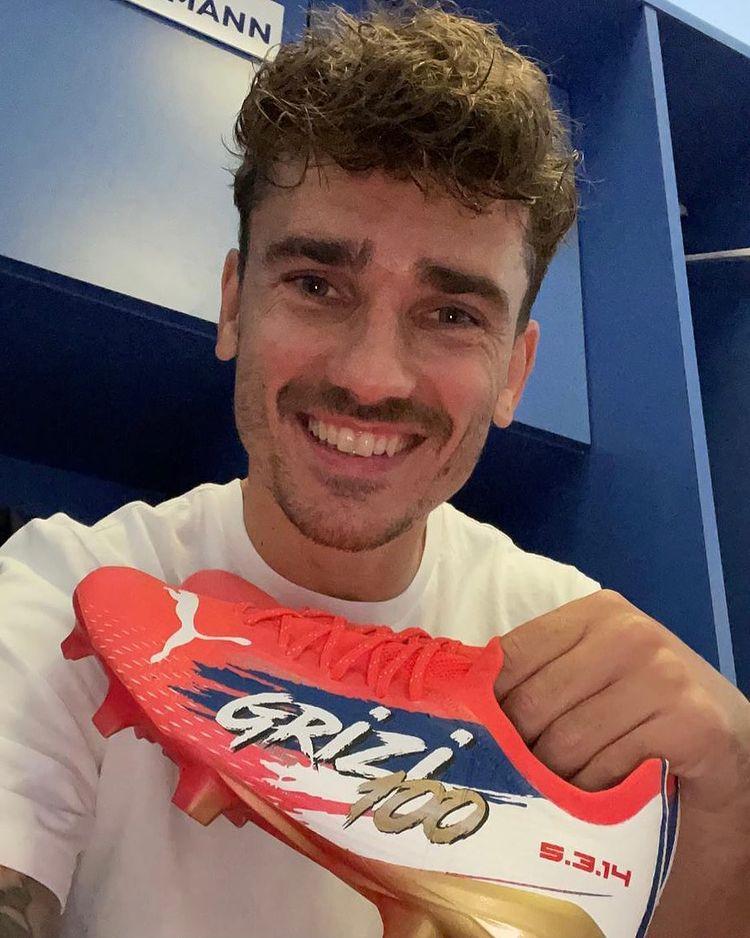 Chaussures Antoine Griezmann France-Espagne- Ligue-des-nations