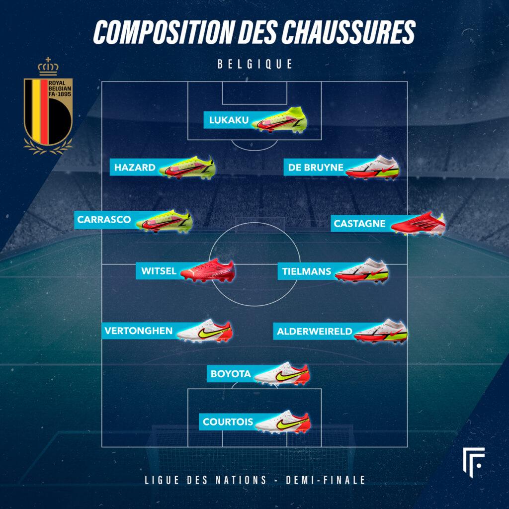 Compo Belgique France Ligue des Nations