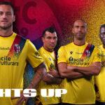 Le Bologna FC dévoile un maillot third rétro pour la saison 2021-2022