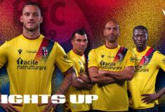Image de l'article Le Bologna FC dévoile un maillot third rétro pour la saison 2021-2022