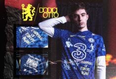 Image de l'article Chelsea réalise un maillot collector en hommage à la C1 gagnée la saison dernière