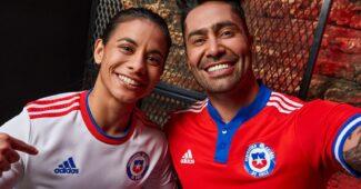 Image de l'article Après son départ de Nike, le Chili dévoile ses nouveaux maillots adidas