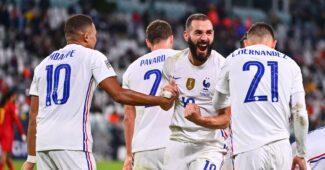 Image de l'article Coupe du Monde ou Ligue des Nations : Quel badge sur le maillot des Bleus ?