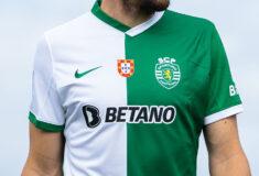 Image de l'article Le Sporting Portugal présente son maillot fourth en hommage à Francisco Stromp