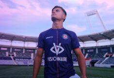 Image de l'article La marque de Bigflo et Oli débarque sur les maillots du Toulouse FC