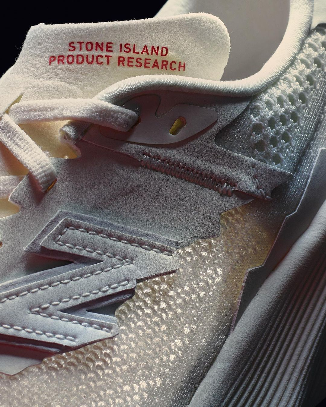 Raheem Sterling sneakers New Balance Stone Island
