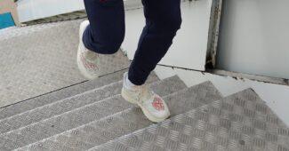 Image de l'article Une sneakers New Balance x Stone Island aux pieds de Raheem Sterling